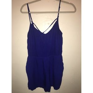 (3 for $10💰) H&M blue romper